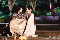 Sha Qian Mo tells Hua Qian Gu to take care of her health and gives her beauty products.