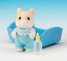 Sylvanian Families Hamilton Hamster baby