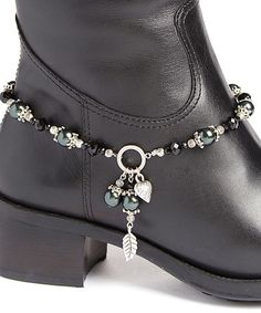 Love this Black Crystal boot anklet 17.00