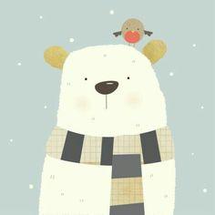 Nicola Evans - Polar Bear Xmas Design- much more there!