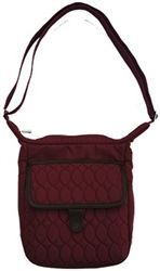 Lug BB Scoop Cross body bag  same great material with the added faux leather trim!