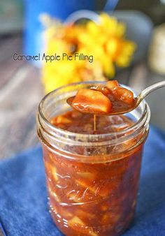 Caramel Apple Pie Filling - so easy so delicious