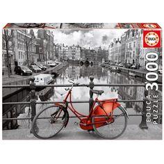 AMSTERDAM 3000 PIEZAS Dimensiones: 120 x 85 cm. Su referencia es: 16018. Sale a 18,25€