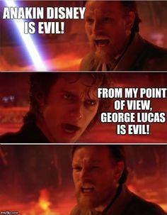 When Star Wars went to Disney