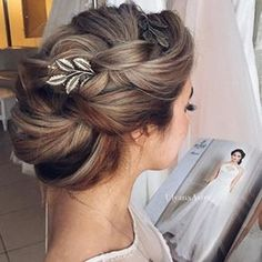 How you will style your hair on your special day?