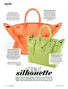 The Soft Ricky Bag is Middle East Magazine's Product of the Month
