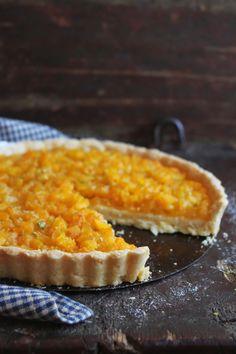 Tarta de damasco con crema de almendra y vainilla- el gran chef