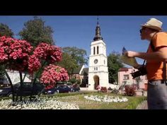 Video - attractions in the spa resort Uniejow in Central Poland