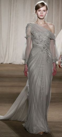 Marchesa - this EXACTLY like my bridesmaid dresses minus the sleeves- matched…