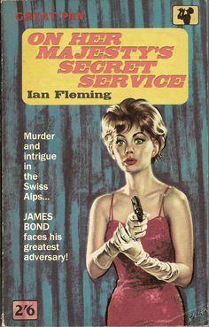 "Ian Fleming ""On Her Majesty's Secret Service"" (Great Pan)"