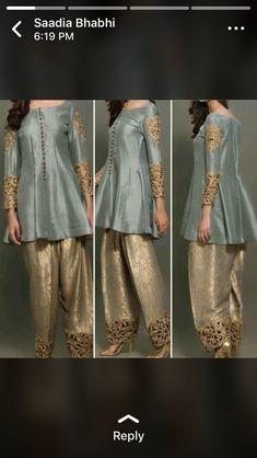 Pakistani Wedding Outfits, Pakistani Dresses, Indian Dresses, Indian Outfits, Walima Dress, Indian Attire, Indian Wear, Kurta Designs, Blouse Designs