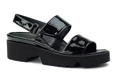 Thierry Rabotin Barton 1332 Black Shine   Hanigs Footwear - Hanig's Footwear
