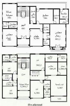 House Layout Plans, Duplex House Plans, Family House Plans, Luxury House Plans, Dream House Plans, House Layouts, House Floor Plans, Modern Glass House, Modern House Design