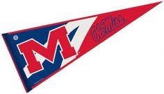 University of Mississippi Pennant