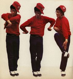 80's break dancing.