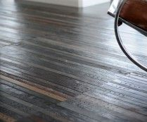 Recycled Leather Belt Flooring. What will they think up next?  $75 square foot.
