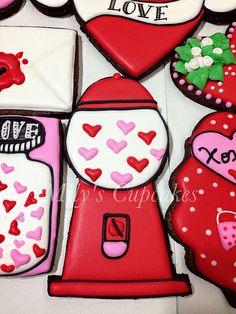 Valentine's days cookies