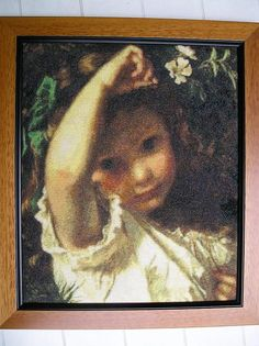 "Pre-Raphaelite Painting: ""Peek-A-Boo!"" by Sophie Gengembre Anderson (French, 1823 - Sophie Anderson, Pre Raphaelite, Gustav Klimt, Peek A Boos, Beautiful Children, Love Art, Oeuvre D'art, Art History, Amazing Art"