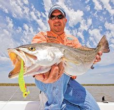 Throw-back speckled trout lures still work in Texas too. Still catching limits. Check out pin on shrimp touts.