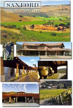 Sanford Winery, Santa Rosa Road in Lompoc