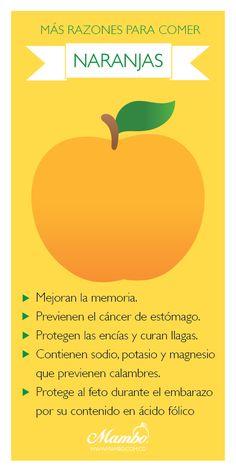 Beneficios de comer más naranjas Frutas y verduras Mambo. www.mambo.com.co