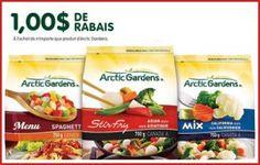 Rabais de 1 $ pour les légumes Arctic Gardens. http://rienquedugratuit.ca/coupons/legumes-arctic-gardens/