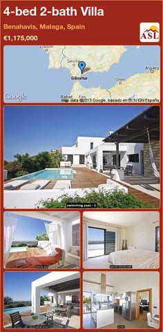 4-bed 2-bath Villa in Benahavis, Malaga, Spain ►€1,175,000 #PropertyForSaleInSpain