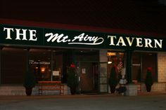 THE MT AIRY TAVERN - RESTAURANT & BAR - MT AIRY, MD 21771