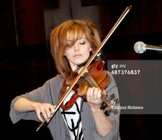 Lindsey Stirling Signs Copies Of Her New CD 'Shatter Me