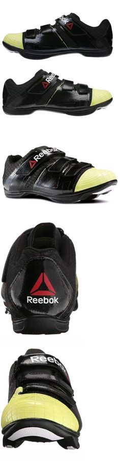 clothing and accessories: New Men S Reebok Cycle Attack Cycling Shoes Black Green White Size 5 M43925 -> BUY IT NOW ONLY: $69.99 on eBay!