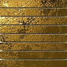 #Settecento #Stripe Musiva Bianco Oro 2,2x18,6 su rete 18,6x19 cm 101044 | #Vetro su gres | su #casaebagno.it a 460 Euro/mq | #mosaico #bagno #cucina
