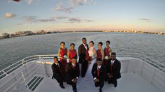 Wedding on Yacht Sensation operated by Yacht Starship http://www.yachtstarship.com/