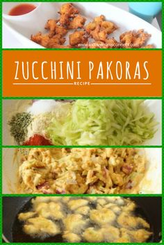 Zucchini Pakoras are a perfect after-school snack or tea time snack prepared with zucchini, onions and chick pea flour combined with other spices.  A quick fried snack that can be prepared under 30 minutes. http://www.indianmomsconnect.com/2016/05/19/zucchini-pakoda-pakora/