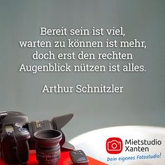 Zitate berühmter Fotografen - Mietstudio Xanten (NRW)