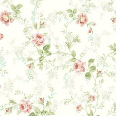 WALLPAPER...Product Details:  Pattern Number: 291-70603  Book Name: Willow Cottage