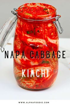 How to make classic napa cabbage kimchi (aka baechu-kimchi/pogi-kimchi) – a tangy, savory, spicy Korean fermented cabbage and ultimate side dish! This Korean kimchi recipe is simple to follow, naturally gluten-free, and the spice levels can be adapted!