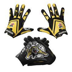RBK Blitz Receiver Gloves – TigerTown Online Store Hamilton, Reebok, Gloves, Football, Store, Cats, Stuff To Buy, Hs Football, Gatos
