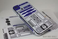 Deluxe R2D2 iPhone 4 AT Version Decal Skin. $10.00, via Etsy. may get it this summer