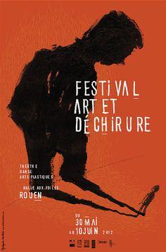Festival Art et Déchirure 2012, Théâtre, Danse & Arts Plastiques, Rouen