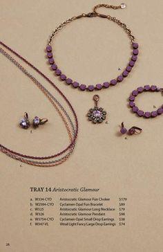 Tray 14 - Aristocratic Glamour  She.Sells.Sabika@gmail.com