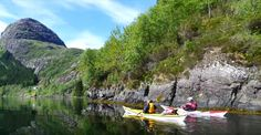 reisetips og reiseinspirasjon: I ett med naturen - Kajakkpadling på Dalsfjorden Norway, Heavens, Voyage, Nature