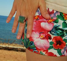 Jewel Style: MAR, FLORES Y COLOR - Anillo Lannel