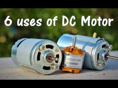 6 useful things from DC motor - DIY Electronic Hobby Diy Generator, Homemade Generator, Hobby Electronics, Electronics Projects, Washing Machine Motor, How To Make Water, Motor Speed, Homemade 3d Printer, Wie Macht Man