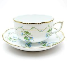 Herend NY Morning Glory tea cup and saucer