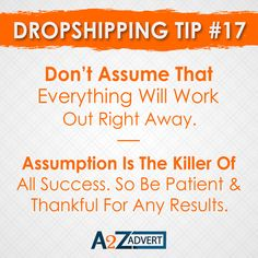 Don't assume that every thing will work out right Away. Assumption is the killer of all success. So be patient & thankful for any results. Agreed or Nott!!?? DM us to start your online dropshipping business. #onlinebusiness #businessinspiration #business #businessideas #droppingsoon #shopifydropshipping #foryou #oberloapp #assumptions #assumptionsaboutme #assume #dropshiper Drop Shipping Business, Business Inspiration, Digital Marketing Services, Online Business, Seo, Web Design, Thankful, Success, Branding
