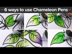 6 Awesome ways to use your Chameleon Pens!-HD