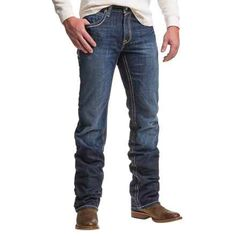 Ariat M6 Alpha Jeans - Low Rise, Bootcut (For Men) in Nevada - Closeouts