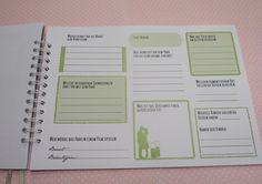 Hochzeitsgästebuch - Gästebuch Hochzeit mit Gästefragen - ein Designerstück von Be-nice-4-you bei DaWanda