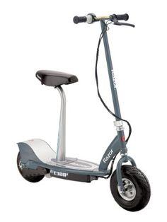 Razor E300S Seated Electric Scooter (Matte Gray, 41 x 17 x 42-Inch) by Razor, http://www.amazon.com/dp/B0085HM3VE/ref=cm_sw_r_pi_dp_1g36rb0WWV7DQ