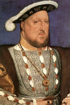 Hans Holbein the Younger, Portrait of Henry VIII, 1536, Oil on wood, 28 x 19 cm, Museo Thyssen-Bornemisza, Madrid